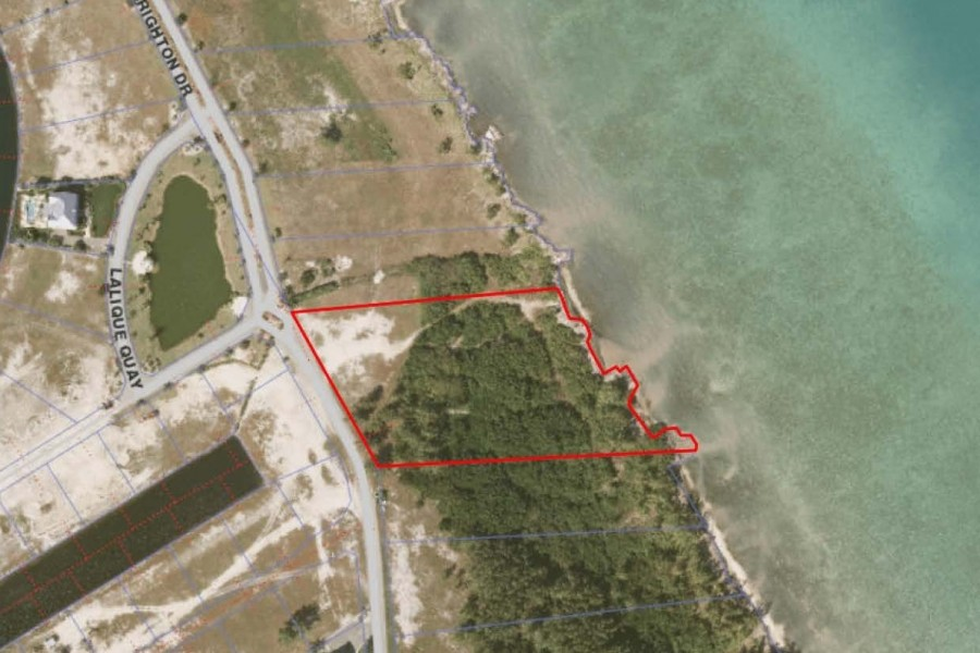 Oceanfront Crystal Harbour Land for sale for sale, Seven Mile Beach Property